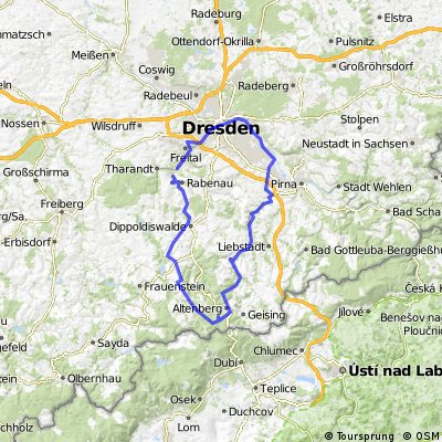 Freital- Altenberg-Dresden-Freital