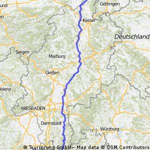 Hessischer Radfernweg R4