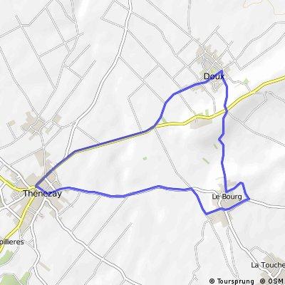 .Course Cycliste de CHERVES (86)