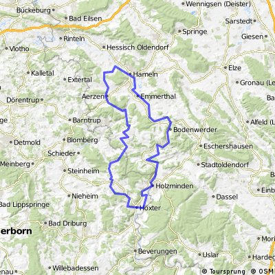 BP Weserradweg HX HM Aerzen long BP