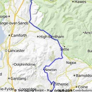Day 8 - Sedbergh - Billington