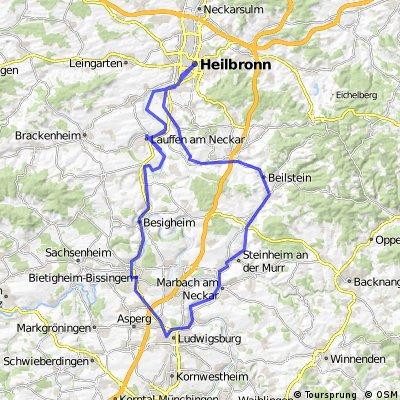 Ludwigsburg - Heilbronn Runde