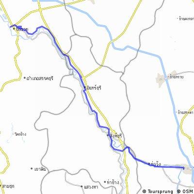 Jour 6 - Lop Buri - Chaï Nat - 95 Kms