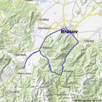 two gipsy on trip map no2/3