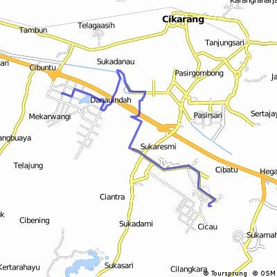 Taman Cibodas-LGEIN via Kalimalang, Belakang Keramik Mulia