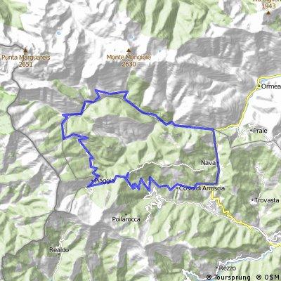 Ligurien4: Passo della Colletta (1602 m)