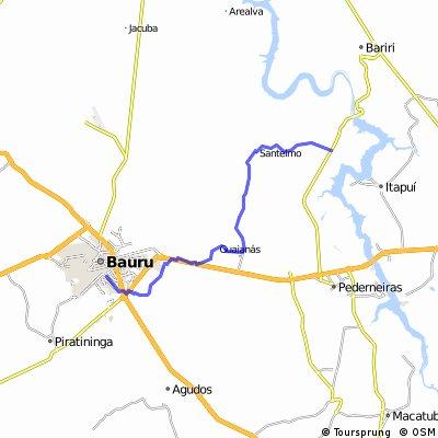 Bauru - Guaianas - Santelmo - Boracéia