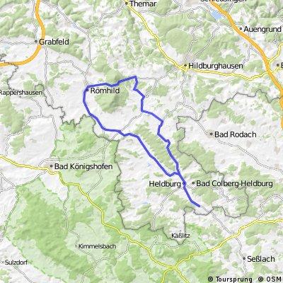 Rennrad Gleichbergrunde