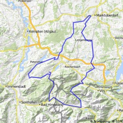 Tour 2013 Rottachseerunde