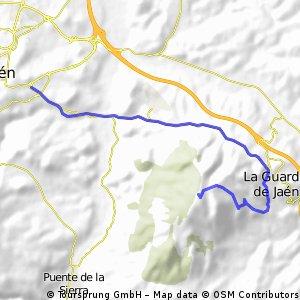 Jaén-Allanadas del Santo