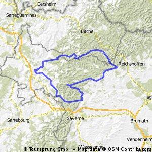 Thal-Baerenthal Rundkurs 117km