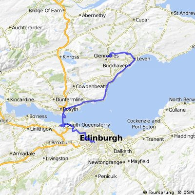 Edinburgh to Fife Coastal