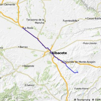 05 Camino del sureste a Santiago: 5ª etapa Pétrola-La Roda (Albacete)