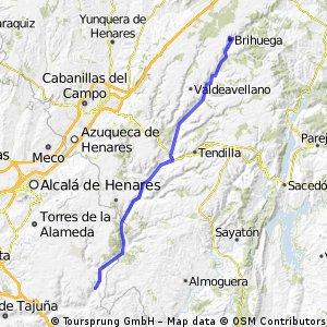 Orusco - Brihuega - Orusco