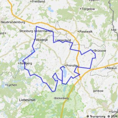 Prenzlauer Hügelmarathon - Radmarathoncup 214 km