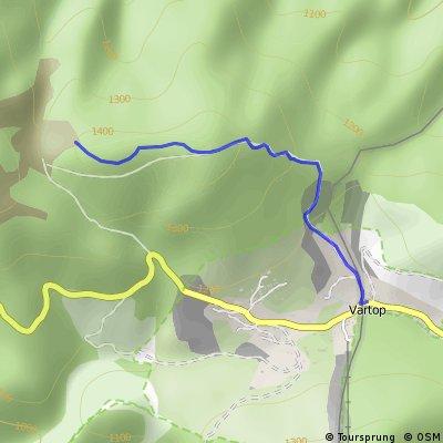 Aventuri pe bicicleta - Vartop - Groapa Ruginoasa
