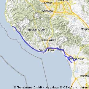 Women's Coast Ride May 2013 - Day 2