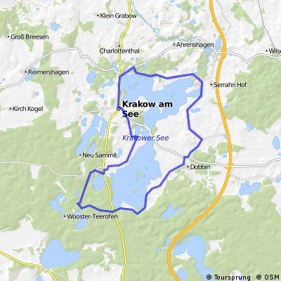 Rund um die Krakower Seen