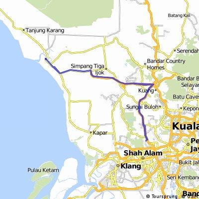 Bkt Jelutong - Kuala Selangor - Bkt Jelutong