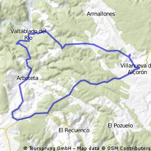 Entre Valtablado y Villanueva de Alcorón