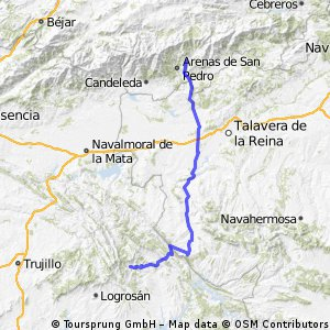 Etappe 10 Guadalupe - Ramacastanas