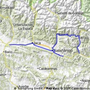 Etappe 18 Santa Cilia - Fiscal