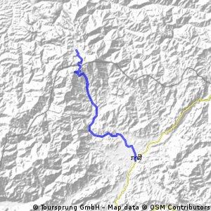 Jour 30 – Montagne entre Muang Nane et kasi - kasi