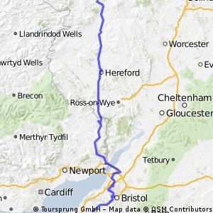 Day 8 - Ludlow to Cleeve