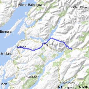 St Columba's Way - Oban to Dalmally