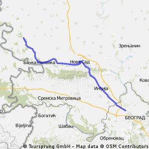 Deronje - Batajnica 140km