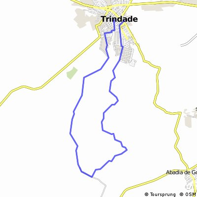 Entre Rios - Trindade GO CLONED FROM ROUTE 1692059