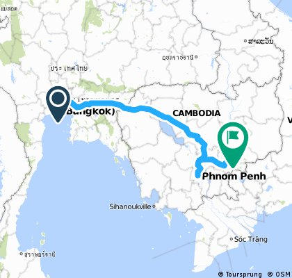 Bangkok to kratie option