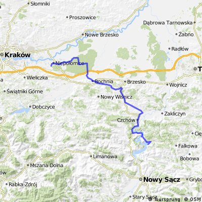 Niepołomice - Gródek nad Dunajcem