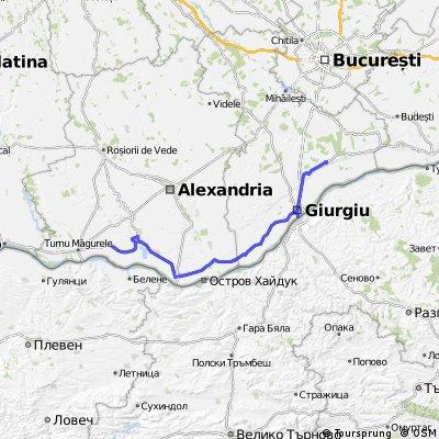 sat Seaca - sat Pietrele 130km