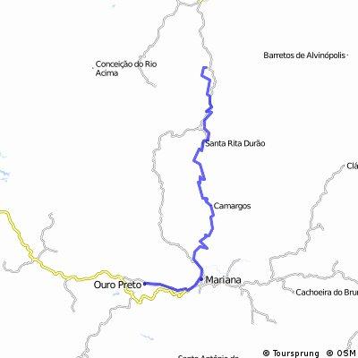Catas Altas - Mariana - Ouro Preto - 68km - Nono dia da cicloviagem Serra do Cipó & Caminho dos Diamantes. http://agoralascou.blogspot.com.br
