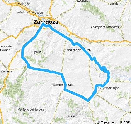 Brevet Randonneur 200K Zaragoza