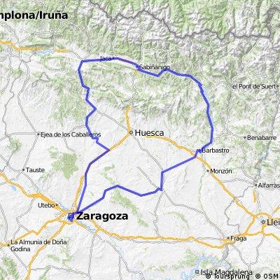 Brevet Randonneur 400K Zaragoza 2017