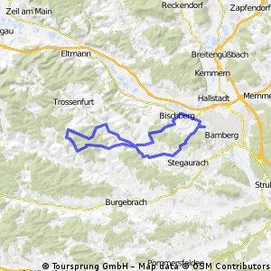 von Bamberg in den Steigerwald
