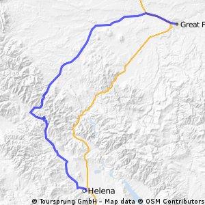 239-> HELENA - GREAT FALLS