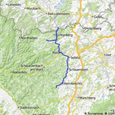 Selbitztal - Radweg