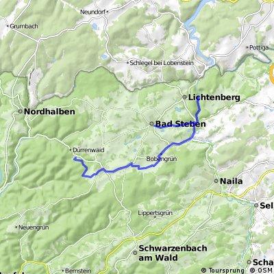 Steinige Tour (Schleife 1)