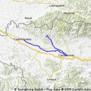 Canal du Midi Castelnaudry-Carcassone
