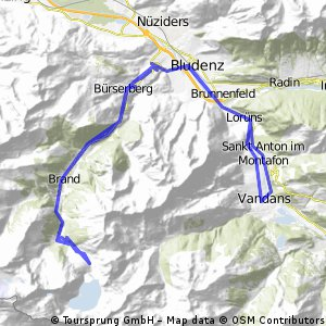 Ins Brandnertal CLONED FROM ROUTE 1733641