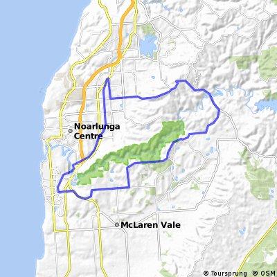 Bains, clarendon, mclaren vale, bike track