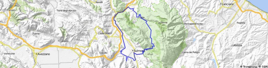 Introdacqua - Pacentro - Parco della Majella
