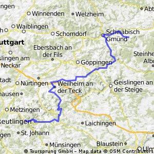 3 Schwäbische Alb Planung Mai 13