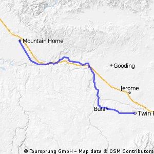 250-> MOUNTAIN HOME - TWIN FALLS
