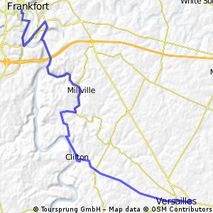 Versailles to Frankfort on Clifton Road CLONED FROM ROUTE 1299598