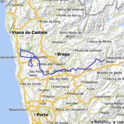 Cabeceiras de Basto - Barcelos (Franqueira) VAP 7
