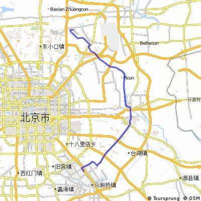 BDA2 open cykle map